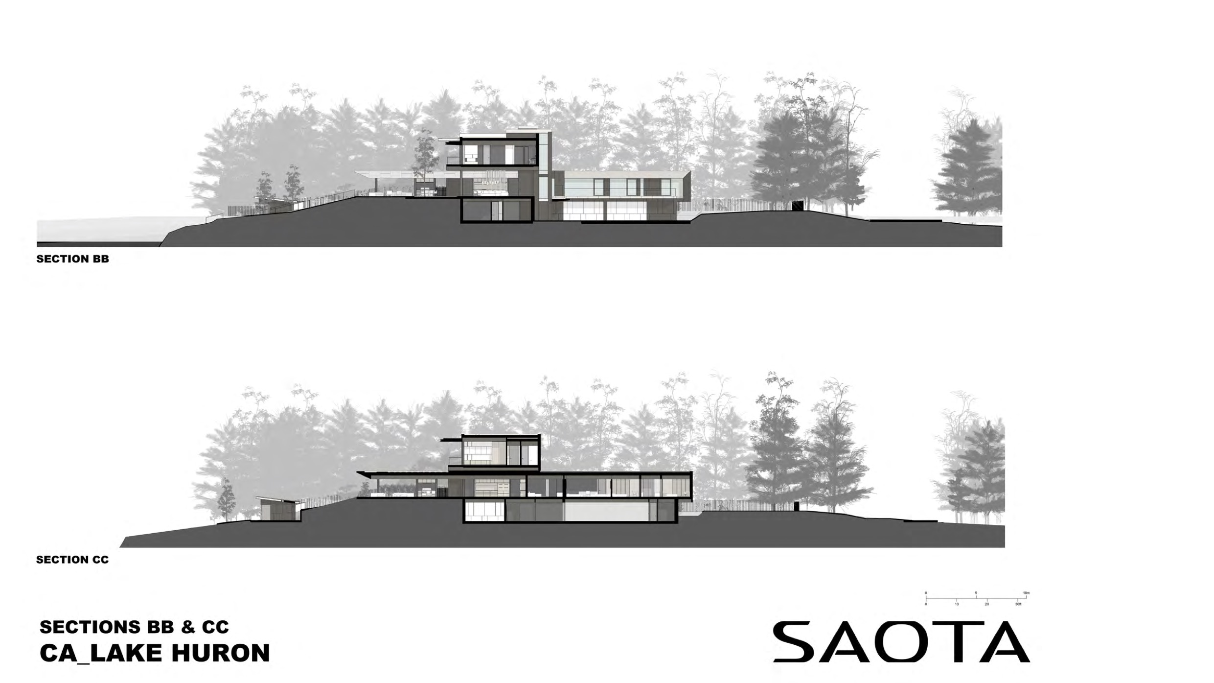 architectural sections drawings