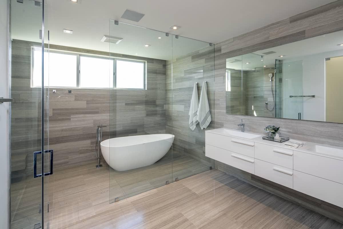 white bathtub in bathroom