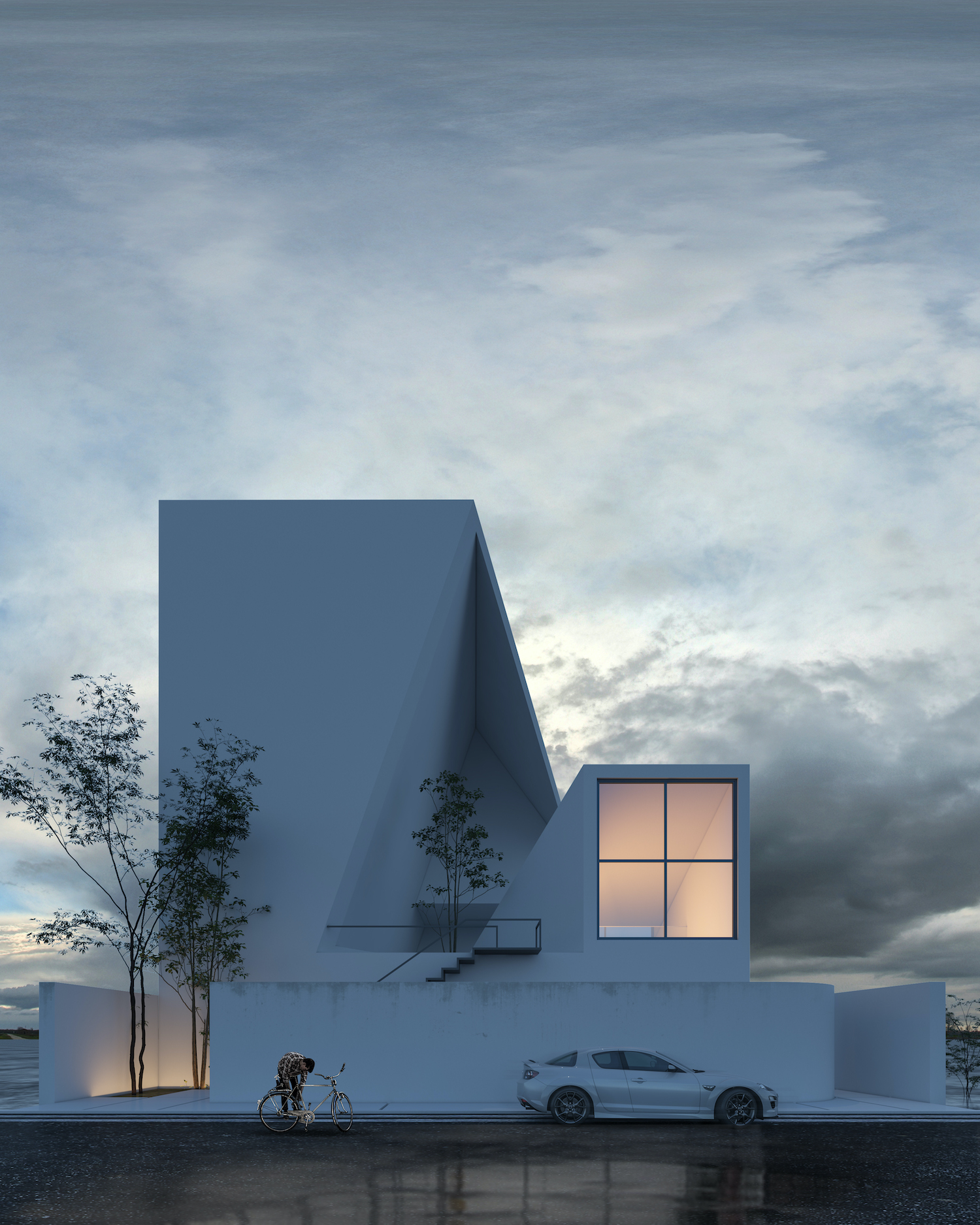 rendering images of a villa