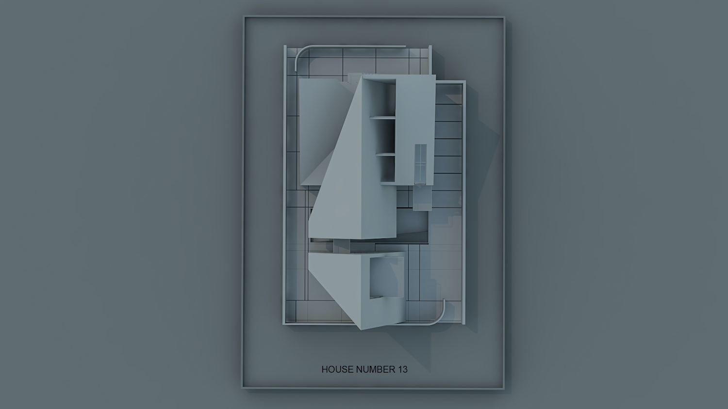 rendering images of house from top view