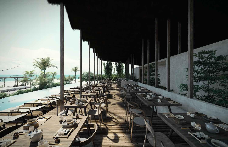 A hidden hotel in Mexico designed by Sierra + Ramirez de Aguilar Arquitectos