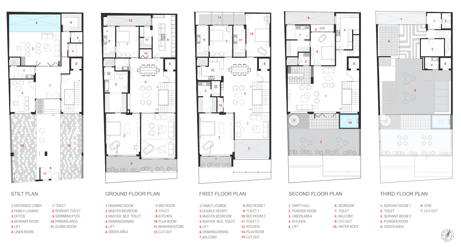 architectural drawing plans