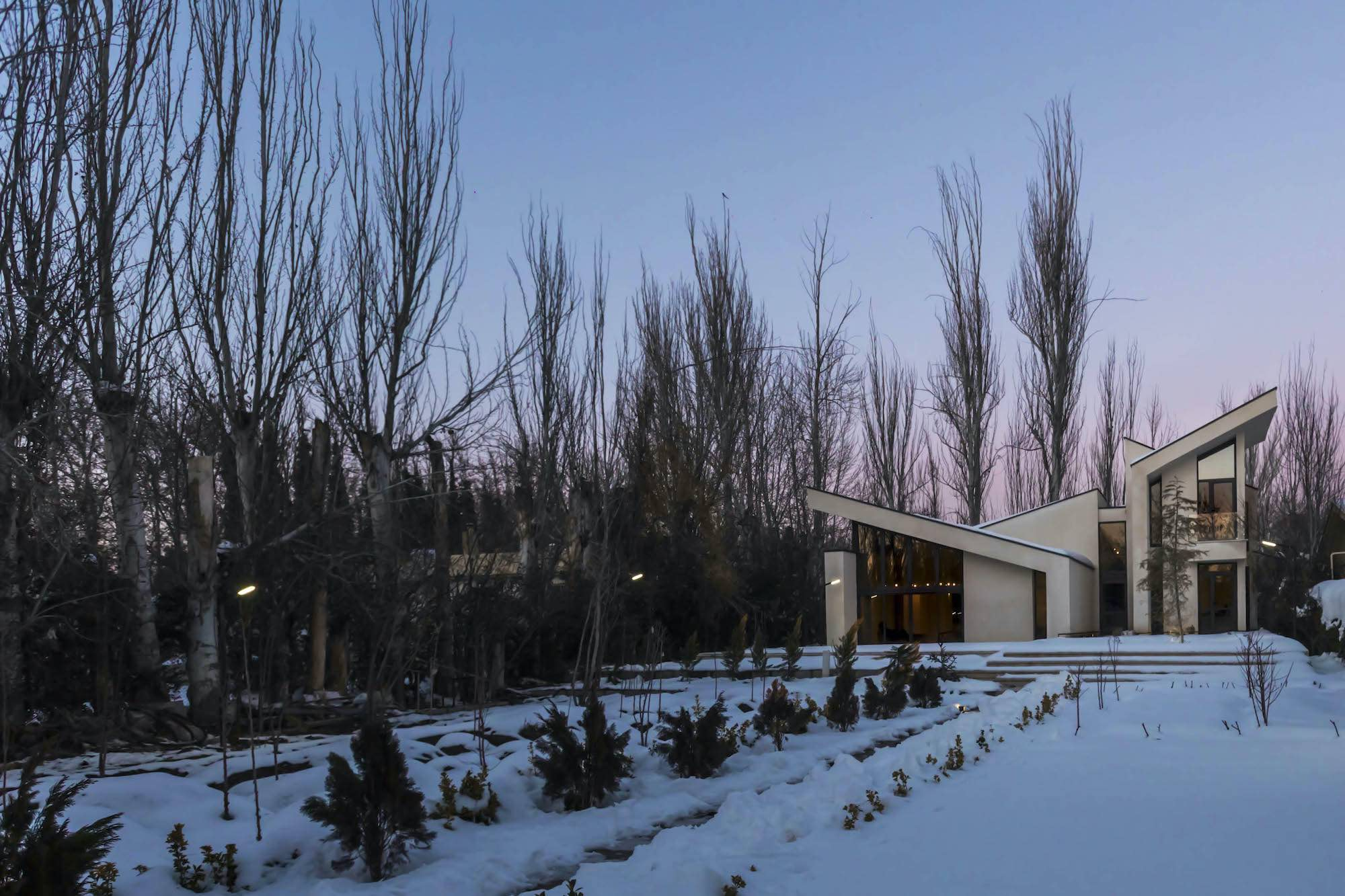 Chaman Villa designed by Special Space Studio