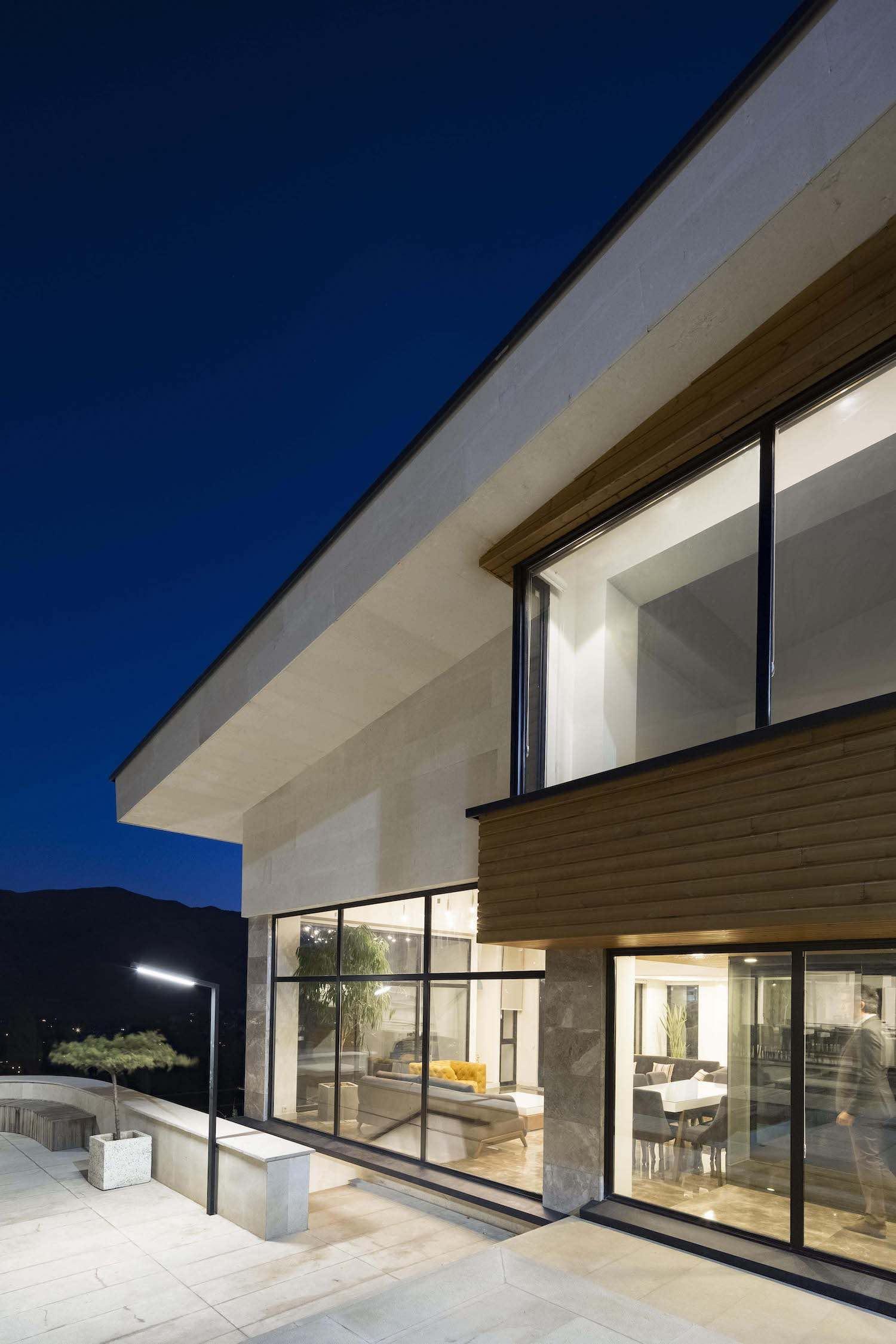 Mosha Twin Villa designed by Special Space Studio