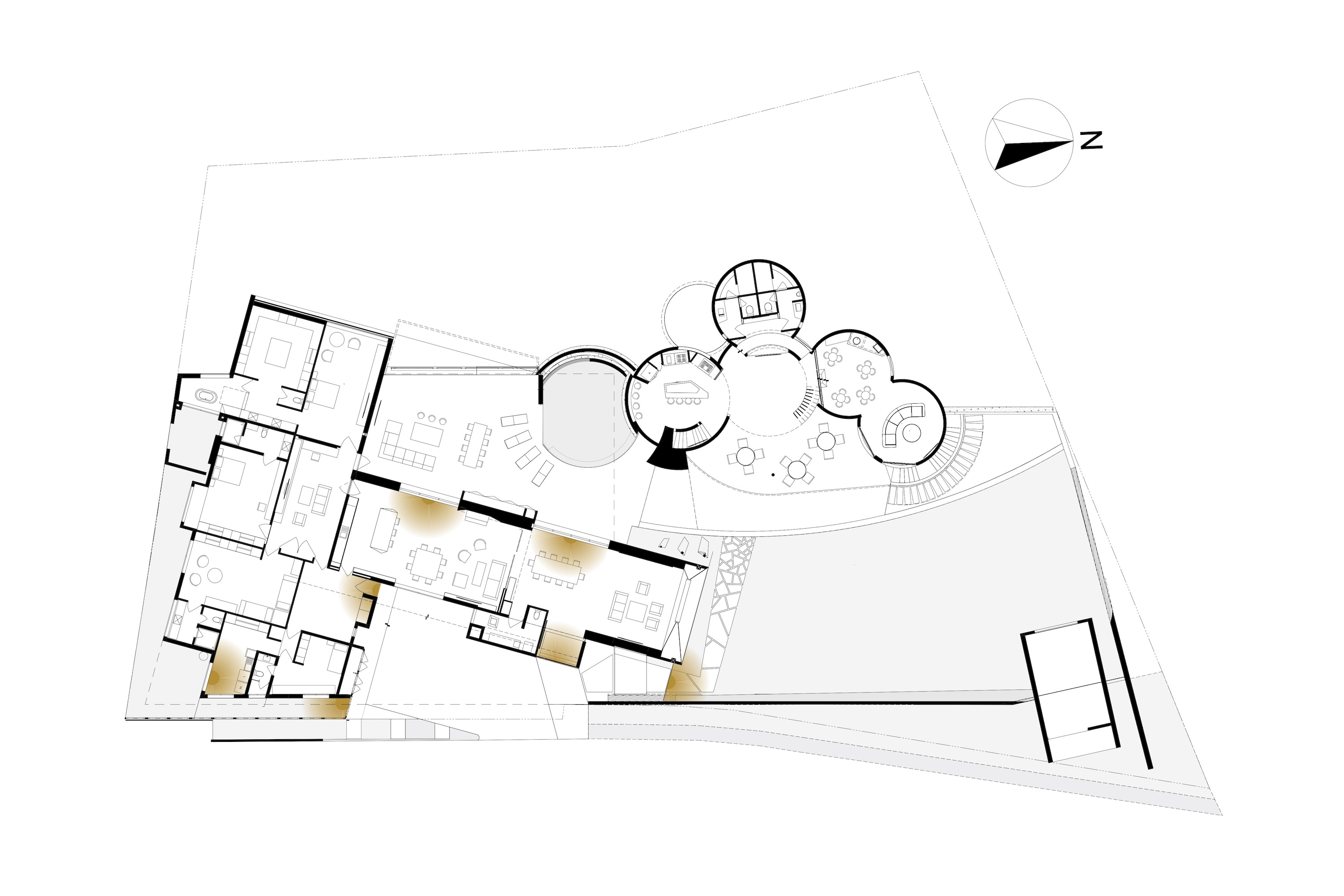 Architectural drawing plan
