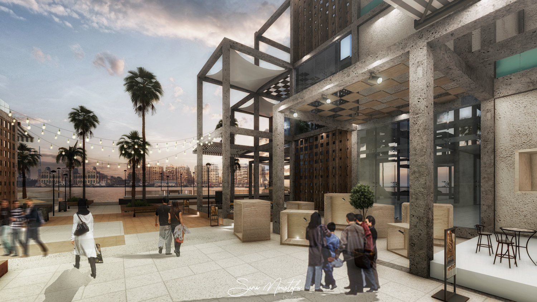 The Metabolic Grid Cultural Center by Sara Mostafa Omran