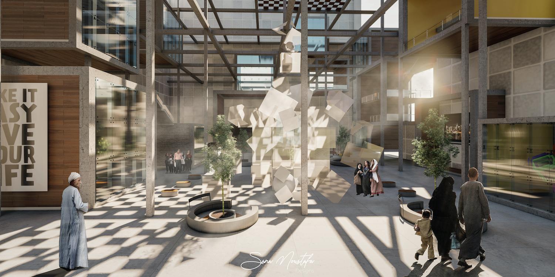 arabian cultural building