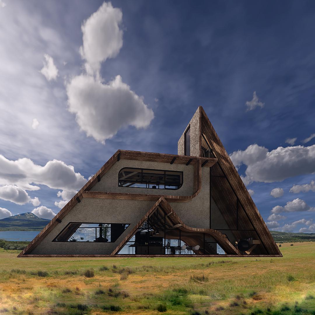 Villa in north of Iran by Shohreh Rafatpanah