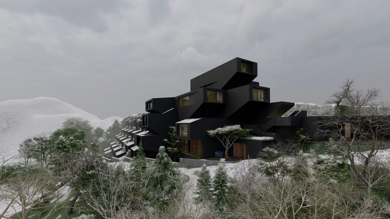Four Seasons Ski Resort in Shemshak, Tehran by Team Group