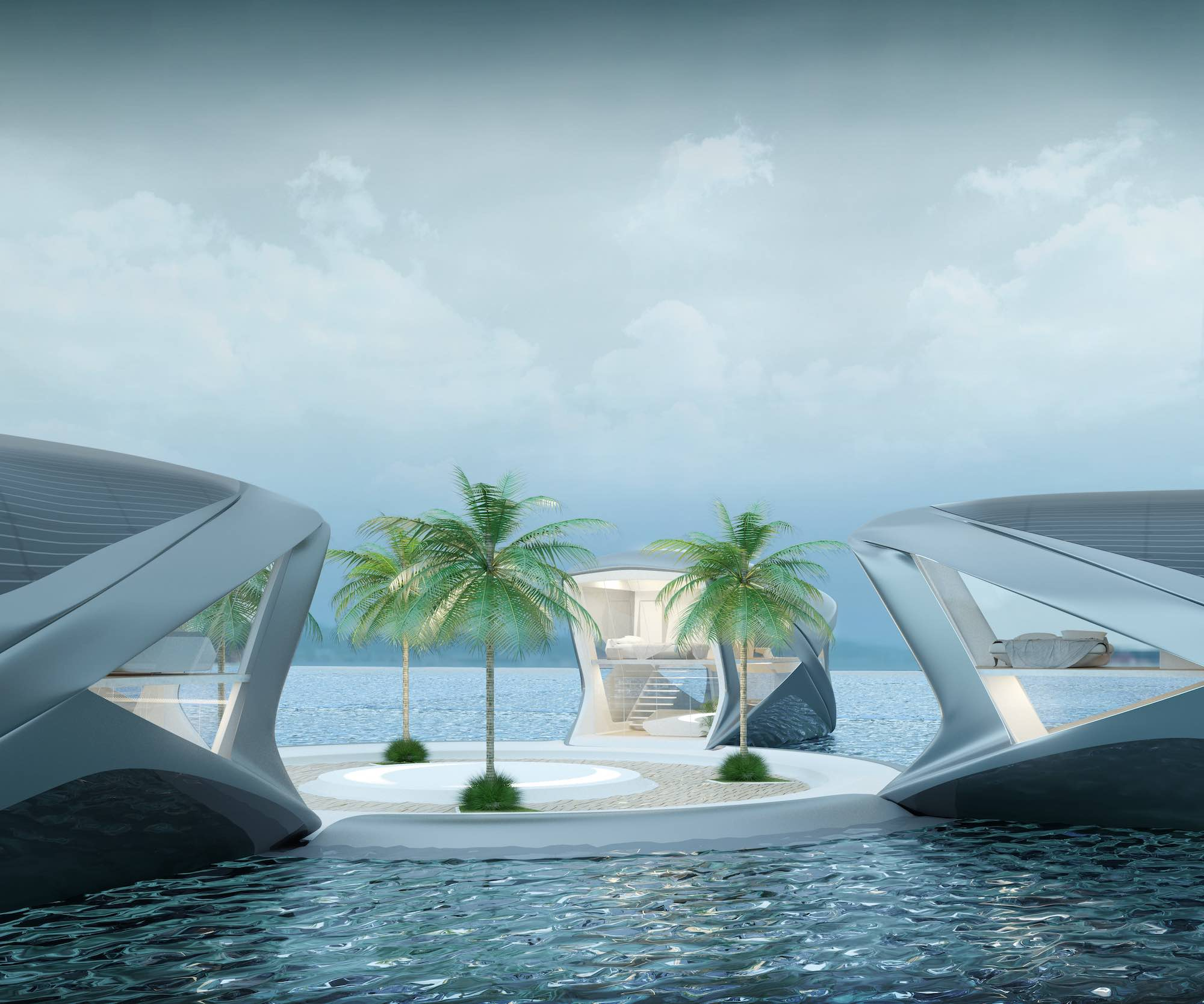 luxurious house boat toscas humanity from sea rising levels