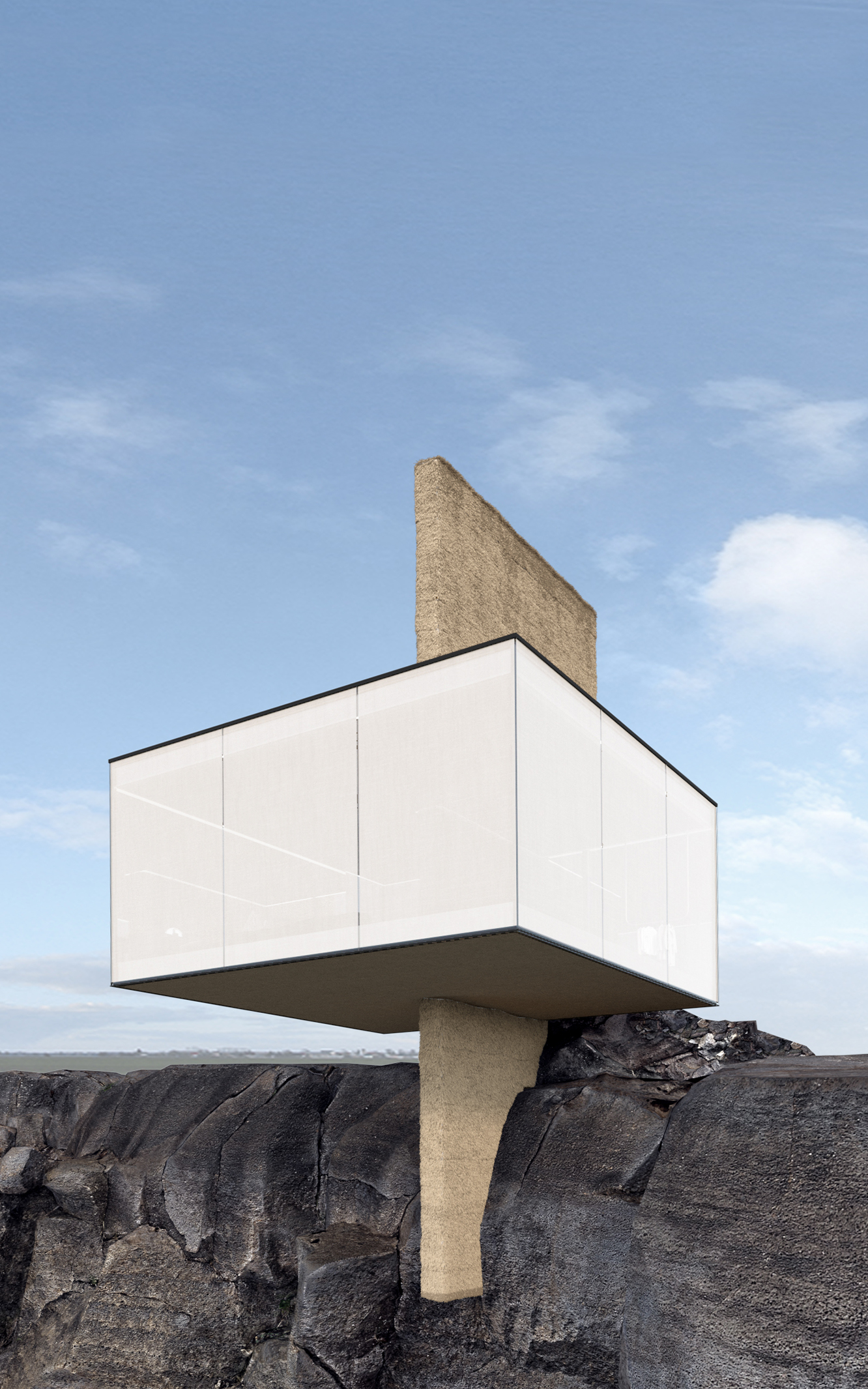 cliff house design in Portugal