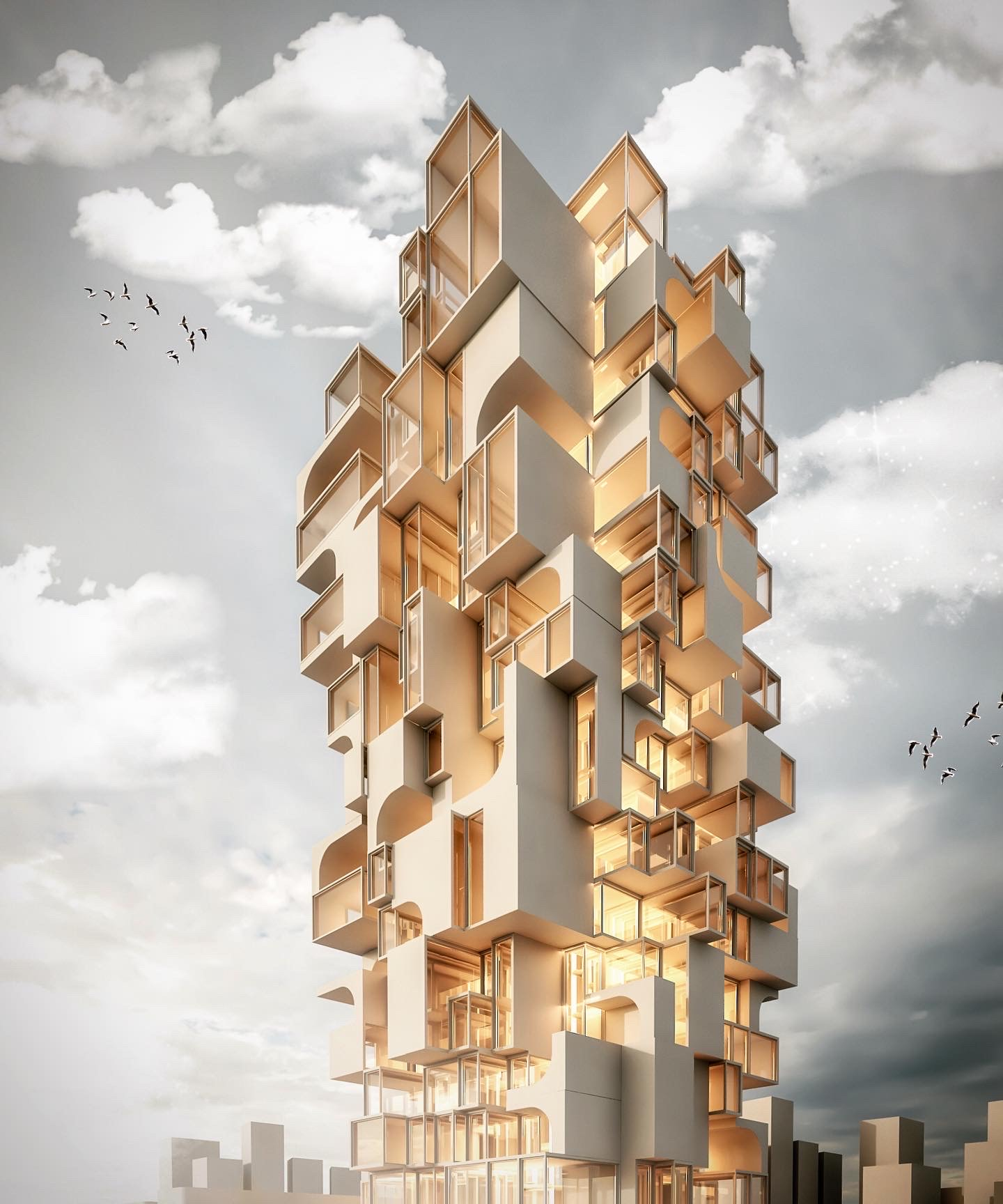 tower Redner made with 3ds max