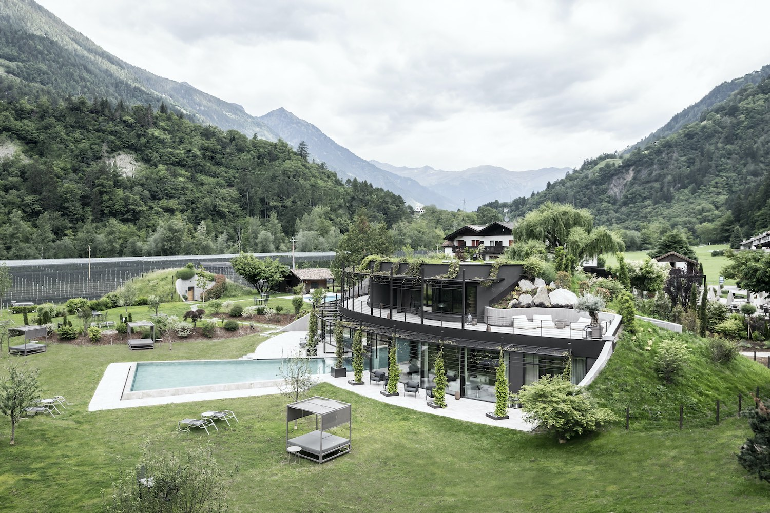 hotel with pool in northern Italy